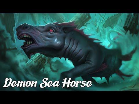 Solomon and the Demon Sea Horse [Testament of Solomon] (Angels & Demons Explained)