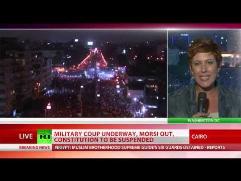 Egypt's Morsi stripped of power, constitution suspended