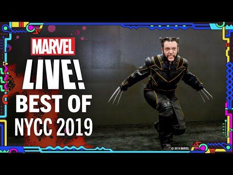 Best NYCC 2019 Moments!   Marvel LIVE!