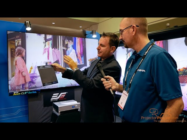 CLR Screens from Elite at InfoComm 2019