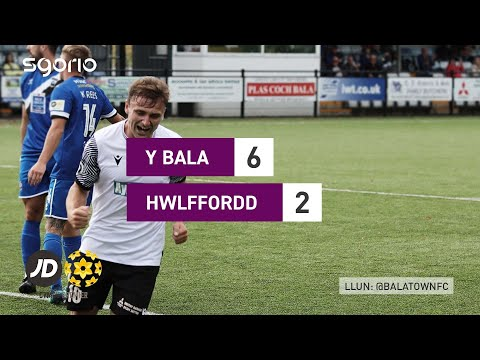 Bala Town Haverfordwest Goals And Highlights