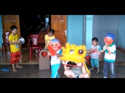 [KB Channel]mua lan cung 2 ong dia-lion dance team for the world