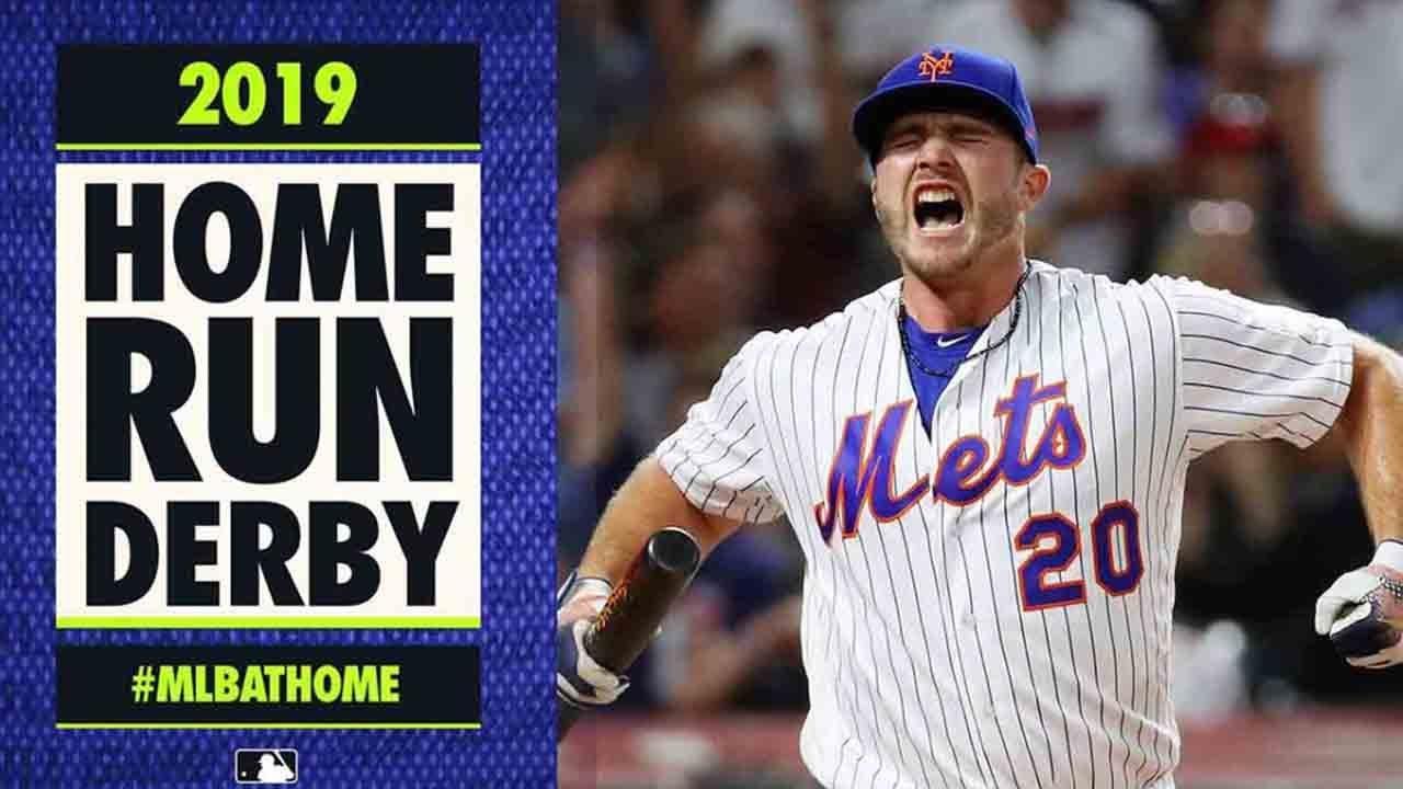 2019 Home Run Derby (Pete Alonso, Vlad Guerrero Jr., Joc Pederson GO OFF) | #MLBAtHome
