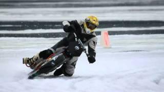 Ledová plochá dráha - Eisspeedwayrennen - Hamr na Jezeře 9.1.2011 - Ice Speedway