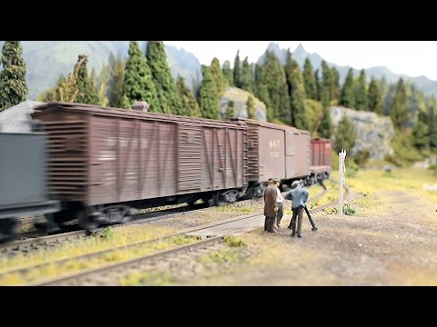 Model railroad video with a story - example | Imagineering | Model Railroad  Hobbyist