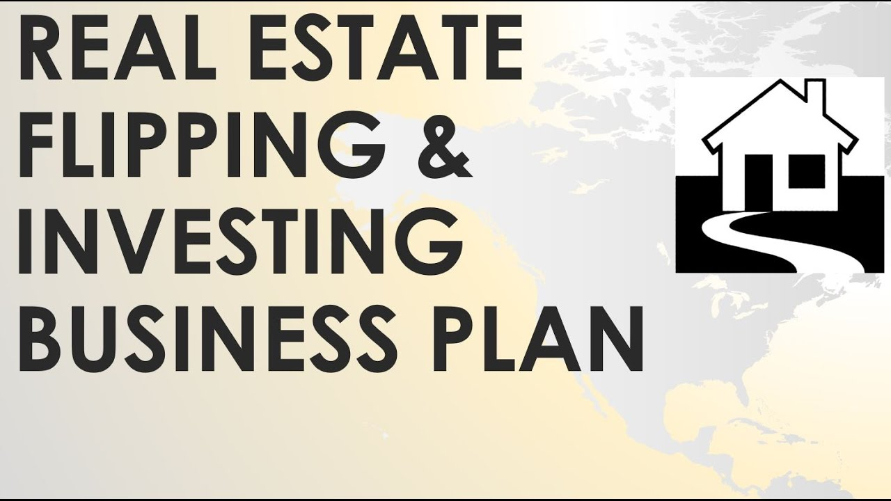 Real Estate House Flipping Company Business Plan Youtube