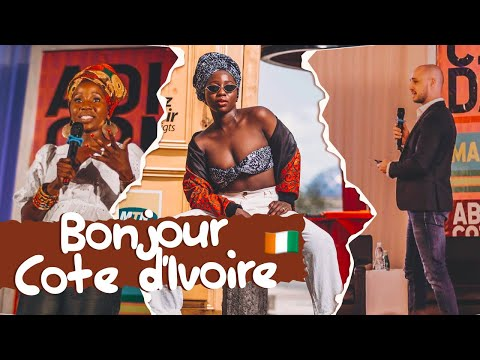 FIRST TRIP WITHOUT THE KIDS & KEYNOTE SPEECH | CÔTE D'IVOIRE TRAVEL VLOG | AdannaDavid