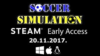 Soccer Simulation || Trailer