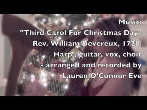 Third Carol For Christmas Day Irish Celtic Christmas Carol Youtube