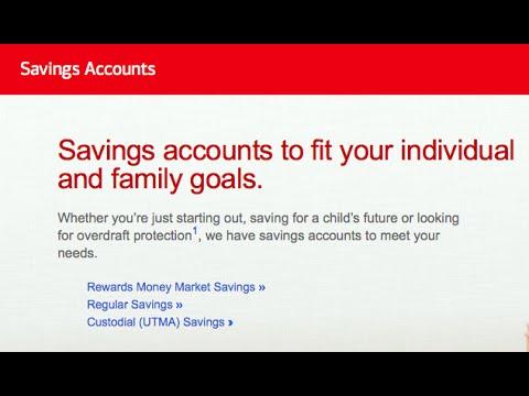 Boa Savings Account