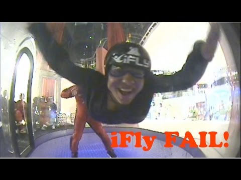IFLY FAIL // Girl Does iFly Like You've Never Seen Before