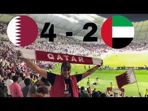 قطر تثأر من الإمارات كرويًا بالرباعية • قطر 4 - 2 الإمارات 😱 • كأس الخليج العربي 2019