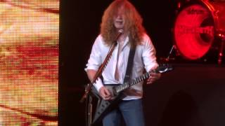 Megadeth opening for Iron Maiden @ Bridgestone Arena Nashville 2013