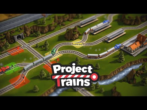 Project Trains: Traffic Control Tilt-Shift Gameplay