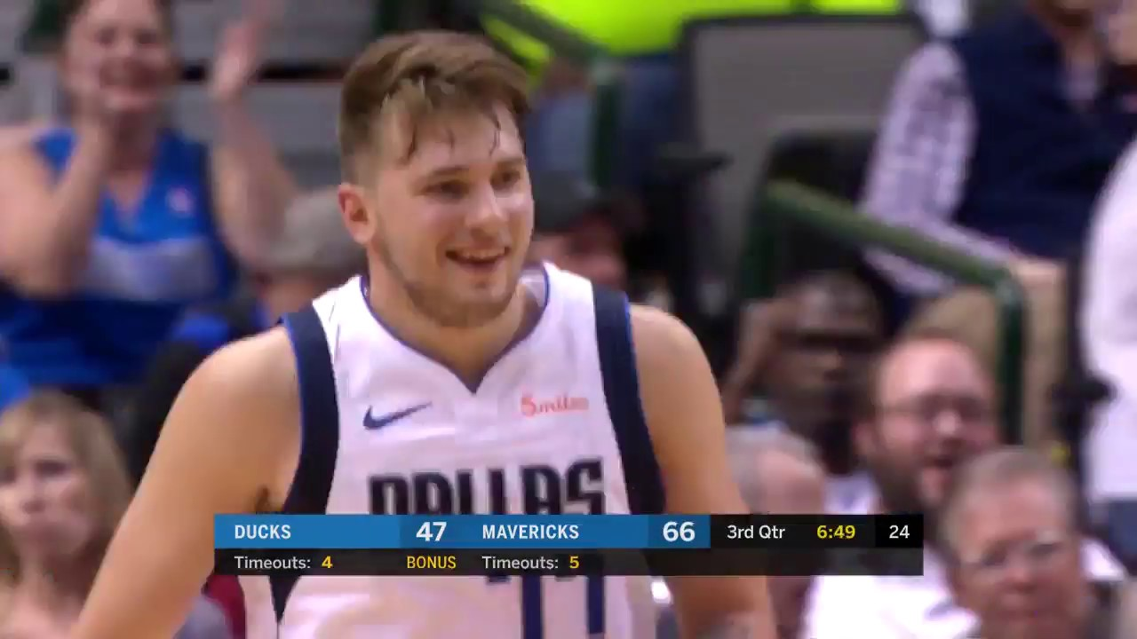 Luka Doncic and Dennis Smith Jr. Explode for 32 Points vs. Beijing Ducks
