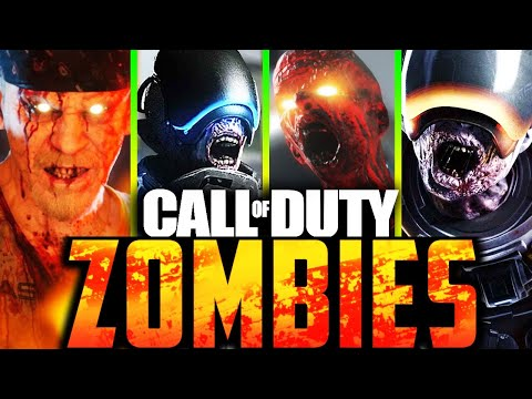 ALL EXO ZOMBIES EASTER EGGS (Speedruns)  (Call of Duty: Zombies) thumbnail
