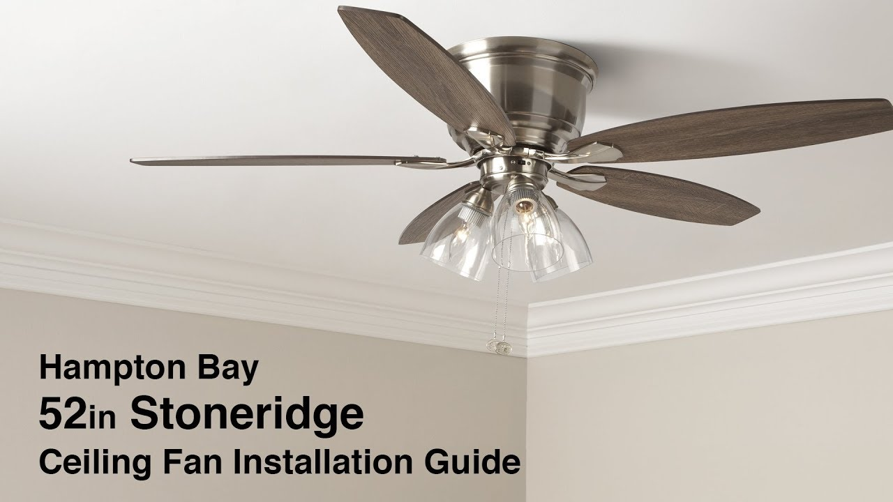 Hampton Bay Hugger Ceiling Fan Manual