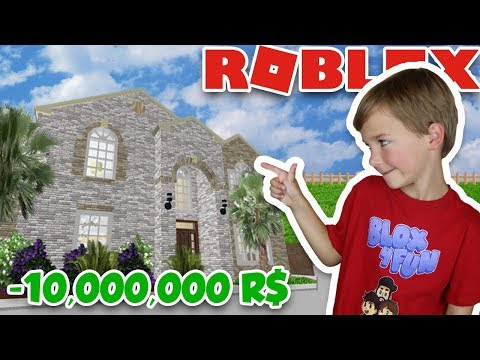 BUYING MY OWN 10,000,000 R$ MANSION in ROBLOX