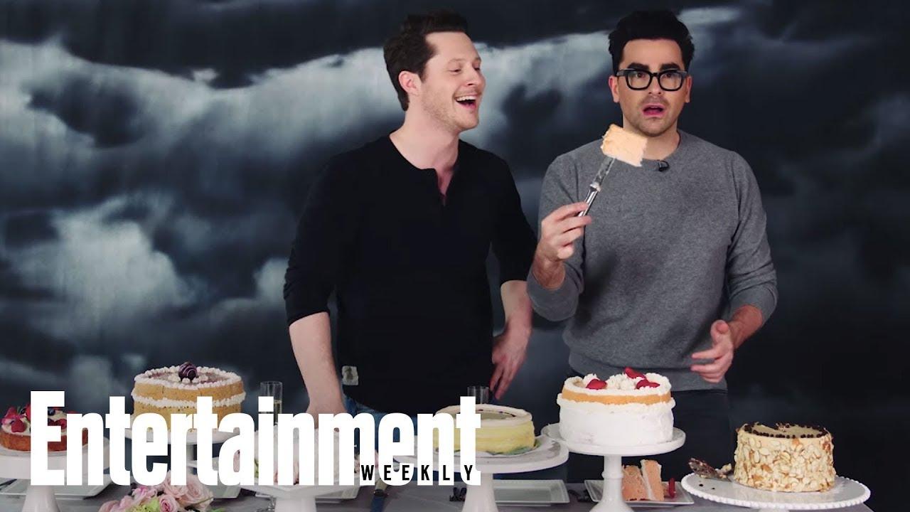 The Great 'Schitt's Creek' Cake-Off: Dan Levy & Noah Reid Judge Wedding Cakes