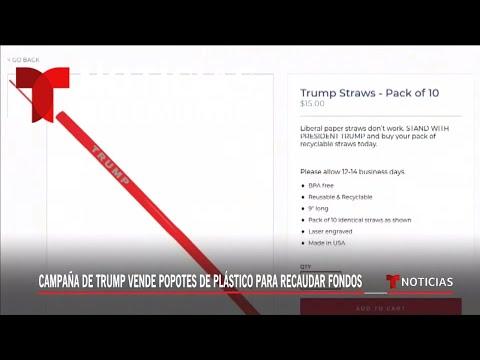 Critican a Trump por línea de absorbentes de plástico   Noticias Telemundo