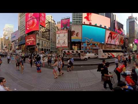 Z CAM S1 Times Square VR