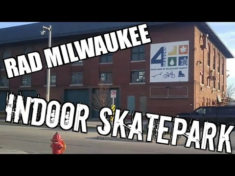 The Largest Indoor Skatepark in Milwaukee WI 4 Seasons Skatepark (Episode 4)