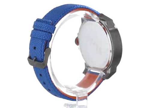 BOSS Orange Men s 1513008 New York Analog Display Quartz Blue Watch ... 0d6e5aa73ec