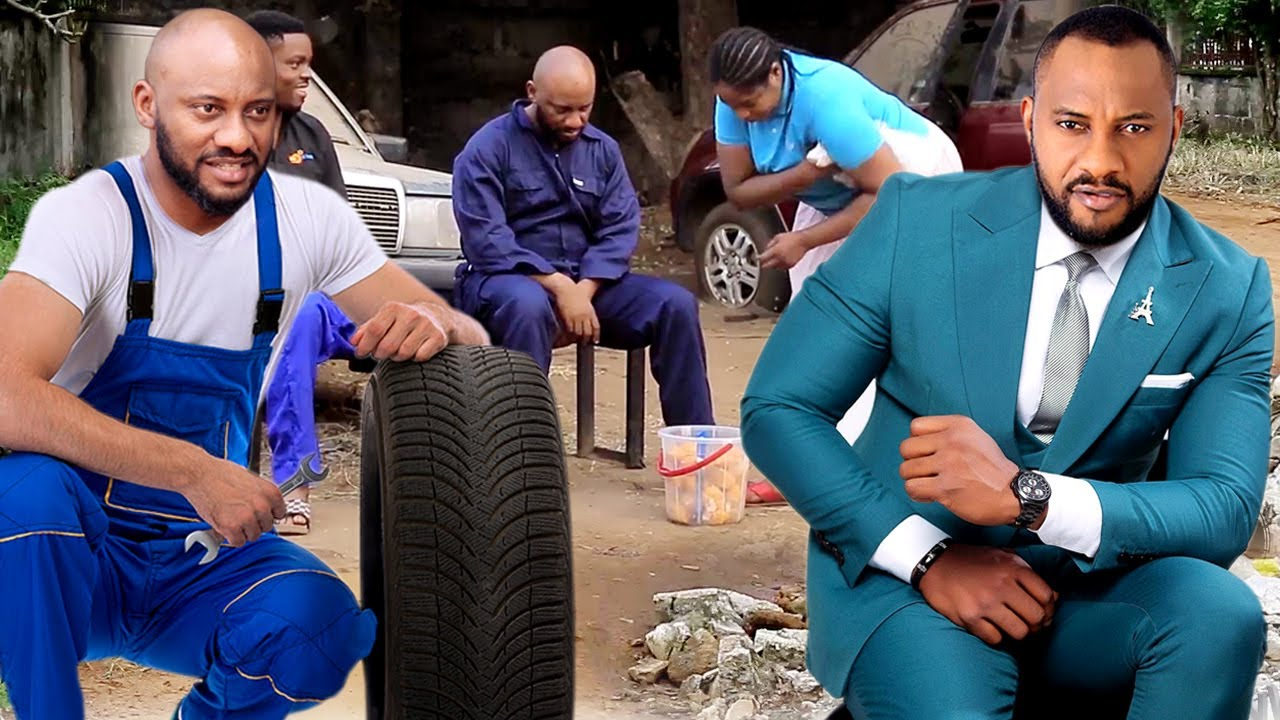 Download The President Son Pretend As A Car Mechanic To Find True Love 1&2-Yul Edochie 2020 Nigerian Movie