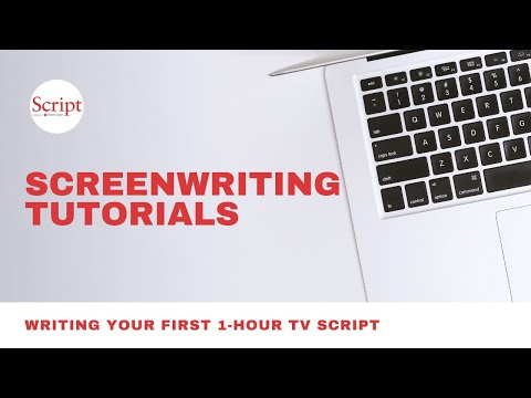 Writing Your First 1-Hour TV Script