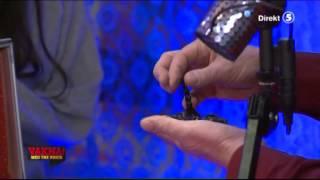 Kackerlacka försvinner i studion - VAKNA! med The Voice