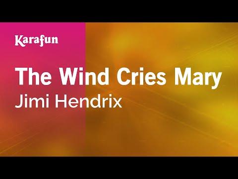 Karaoke The Wind Cries Mary - Jimi Hendrix *
