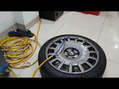 Velg Mobil OZ Rally Original Ring 18 Pasang Di Nissan Serena Modifikasi