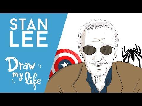 La VIDA de STAN LEE - Draw My Life en Español