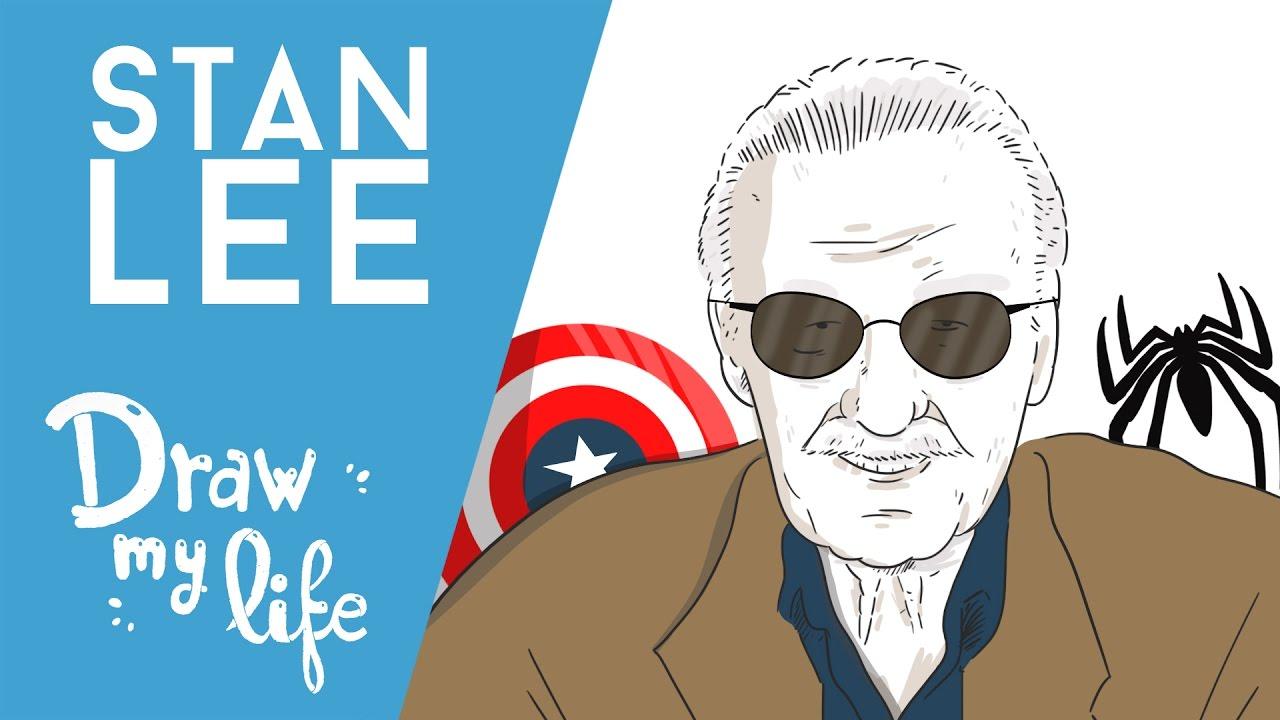 La VIDA de STAN LEE - Draw My Life