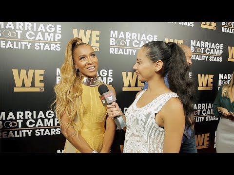 "Amina Buddafly Interview ""Marriage Boot Camp: Reality Stars"" Season 9 Premiere Party"