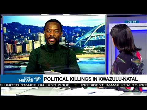 Political killings in KwaZulu-Natal
