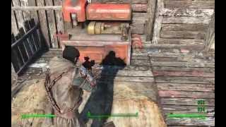 Fallout 4 - разбираем хлам.