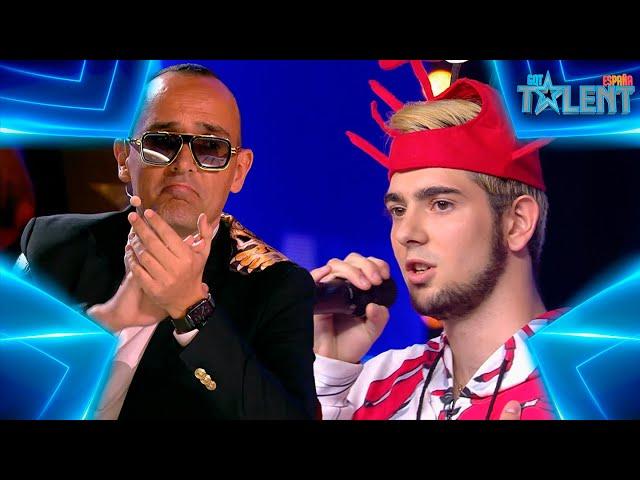 El HOMBRE LANGOSTA te dejará EN SHOCK con su curioso HIT | Audiciones 7 | Got Talent España 7 (2021)