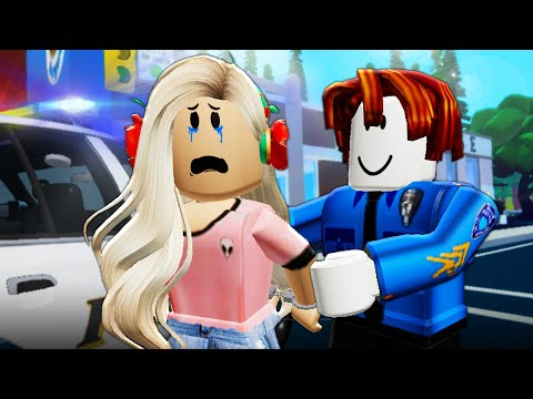 His Girlfriend Was Arrested By A Noob! A Roblox Movie