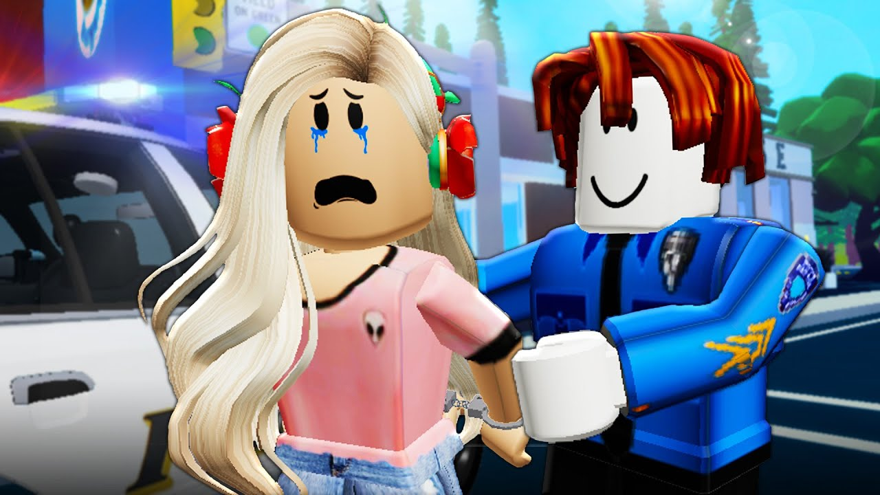 Noob Jailed Roblox His Girlfriend Was Arrested By A Noob A Roblox Movie Youtube