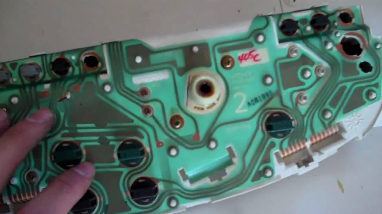 2010 Toyota Corolla Parts Diagram Wiring Tacoma Speedometer Part 1 Youtube