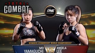 Total Combat | Mei Yamaguchi vs Angela Lee | Full Fight Replay