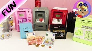 Pokladničky | Veľké porovnanie pokladničiek a bankomatov na peniaze | Top pokladnička | Face bank