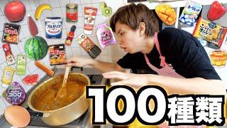 カレーに100種類の食べ物を隠し味にブチ込んで食ってみた