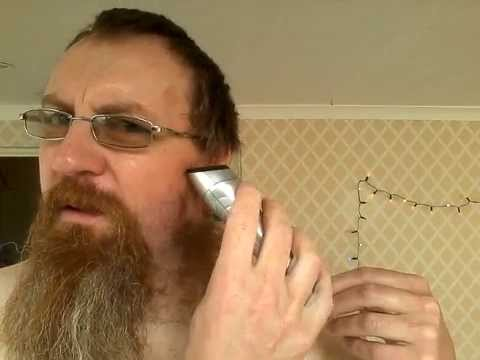 How to trim a goatee beard