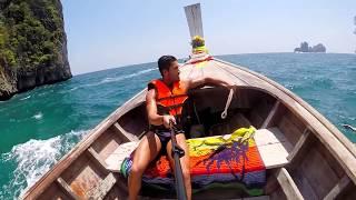 Thailand 2015 - Maya Bay, Monkey beach, Koh Phi Phi, Krabi, Bamboo island | Gopro Hero 3+