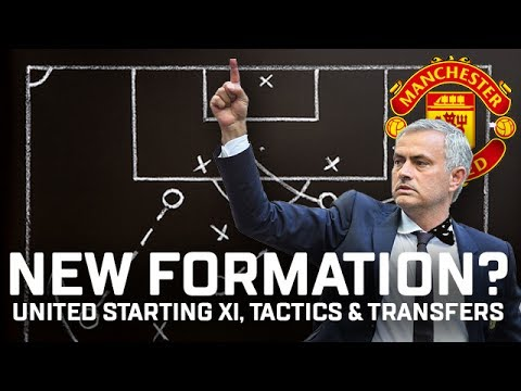 New 3-5-2 Formation? Manchester United Starting XI, Tactics & Transfers 2017/18