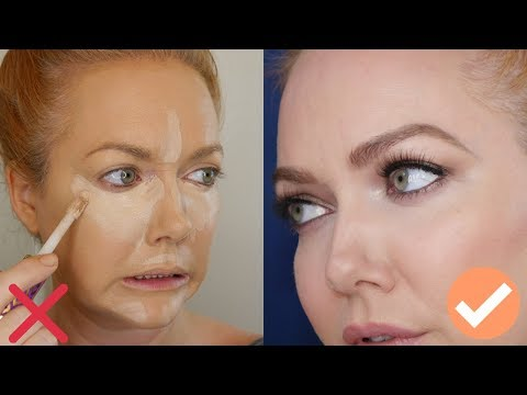 Over 35?  40?  | Stop Doing Your Concealer Like A YouTuber - Tips + Tutorial From A Pro MUA
