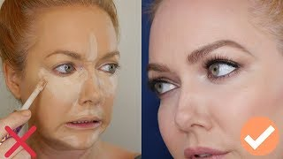 Over 35?  40?  | Stop Doing Your Concealer Like A YouTuber - Tips from a Pro MUA