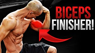Biceps Workout (Ultimate Bodyweight Finisher!)